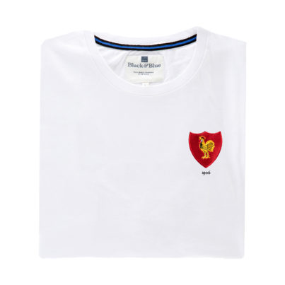 France 1906 White T-Shirt_Folded