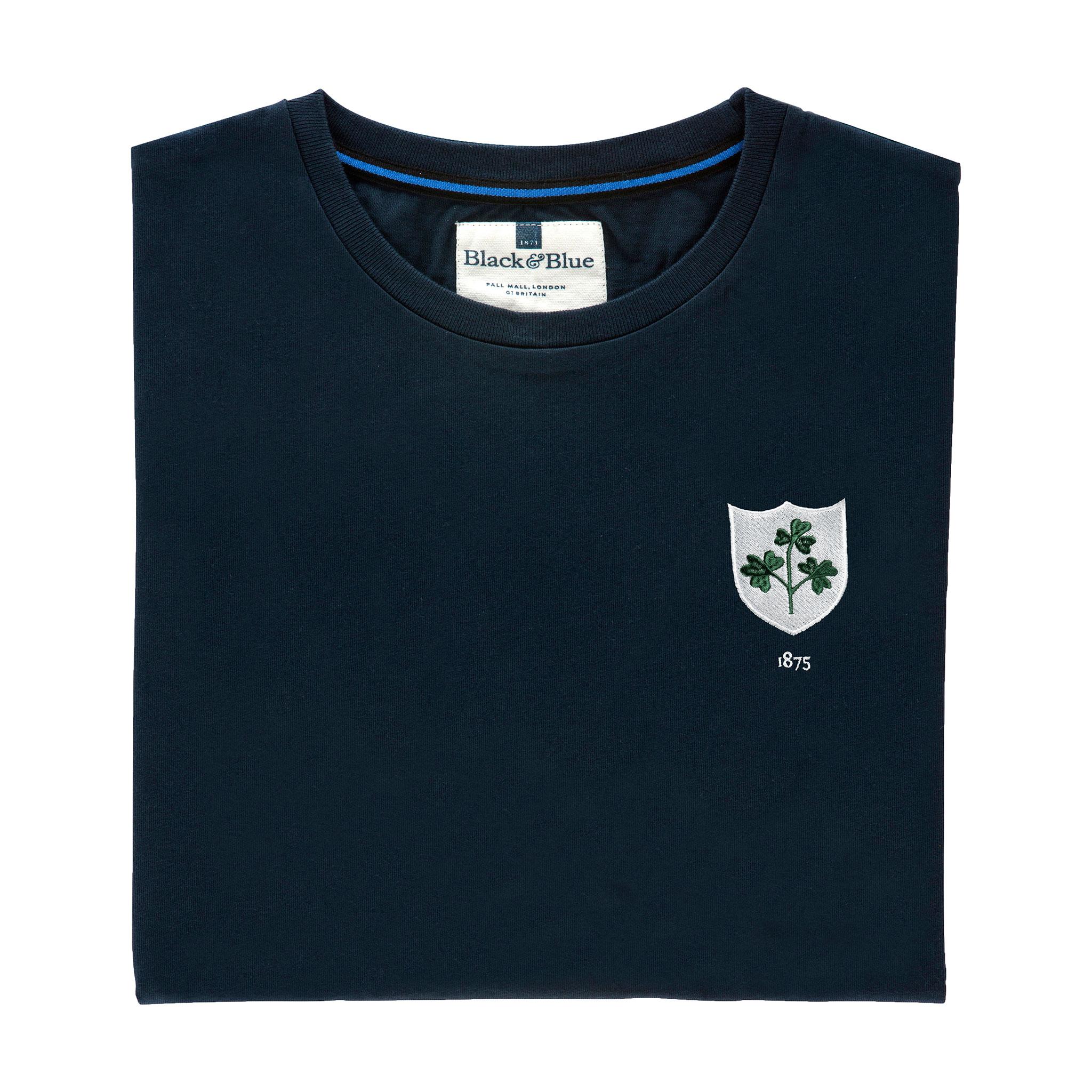 Ireland 1875 Navy T-Shirt_Folded