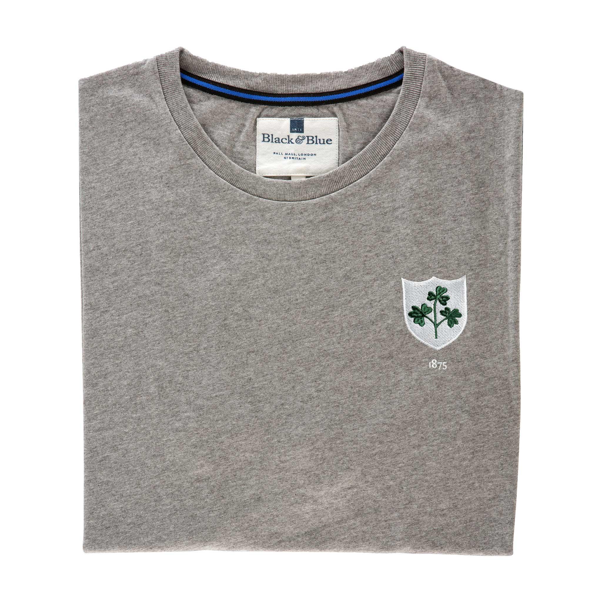 Ireland 1875 Grey T-Shirt_Folded