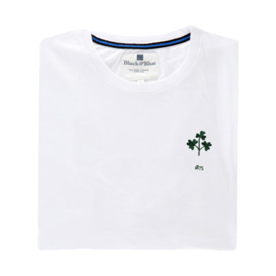 Ireland 1875 White T-Shirt_Folded