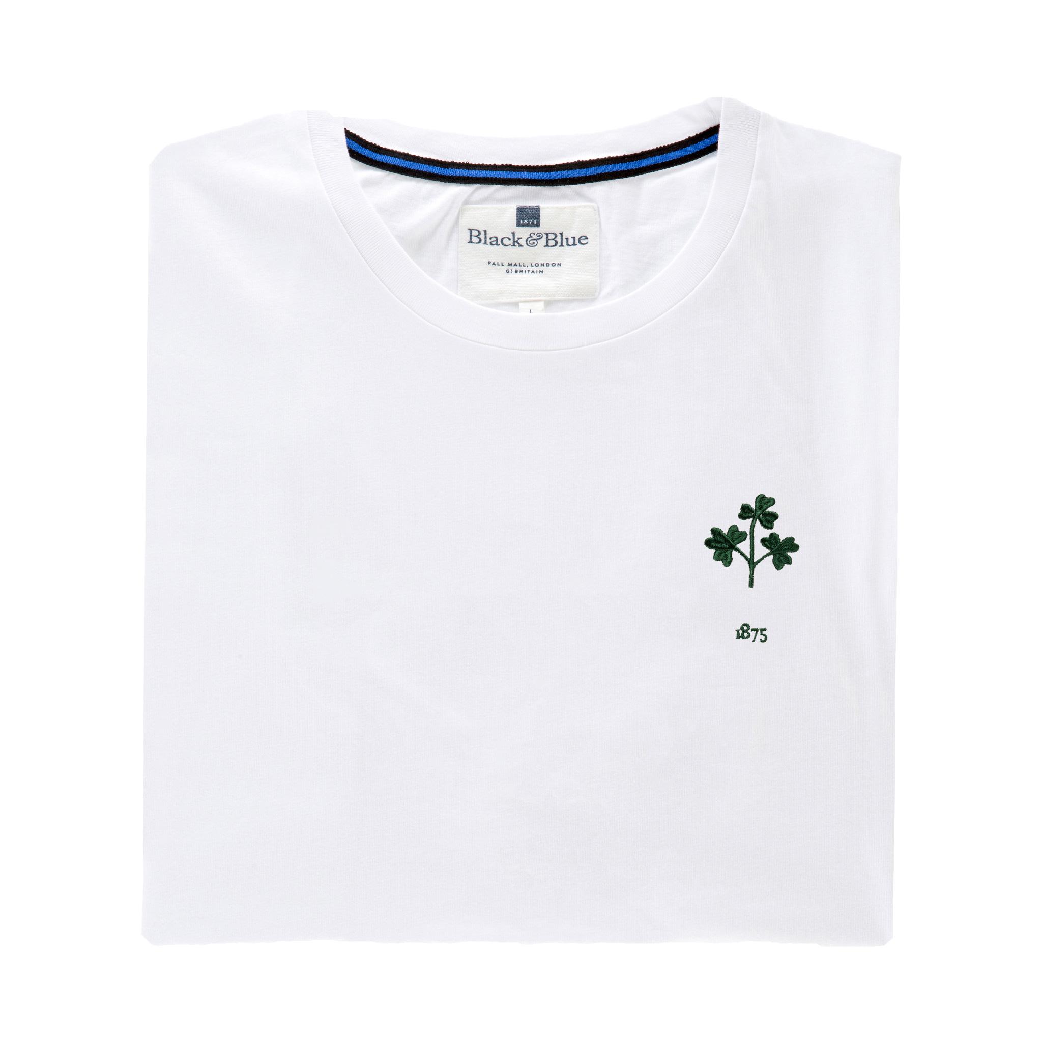 Ireland 1875 White T-Shirt_Folded