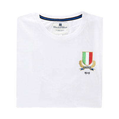 Italy 1929 White T-Shirt_Folded