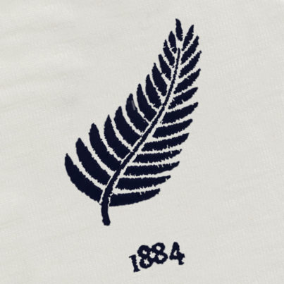 New Zealand 1884 Vintage Rugby Away Shirt_Logo