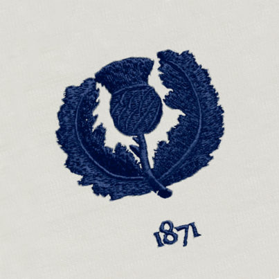 Scotland 1871 Vintage Rugby Away Shirt_Logo