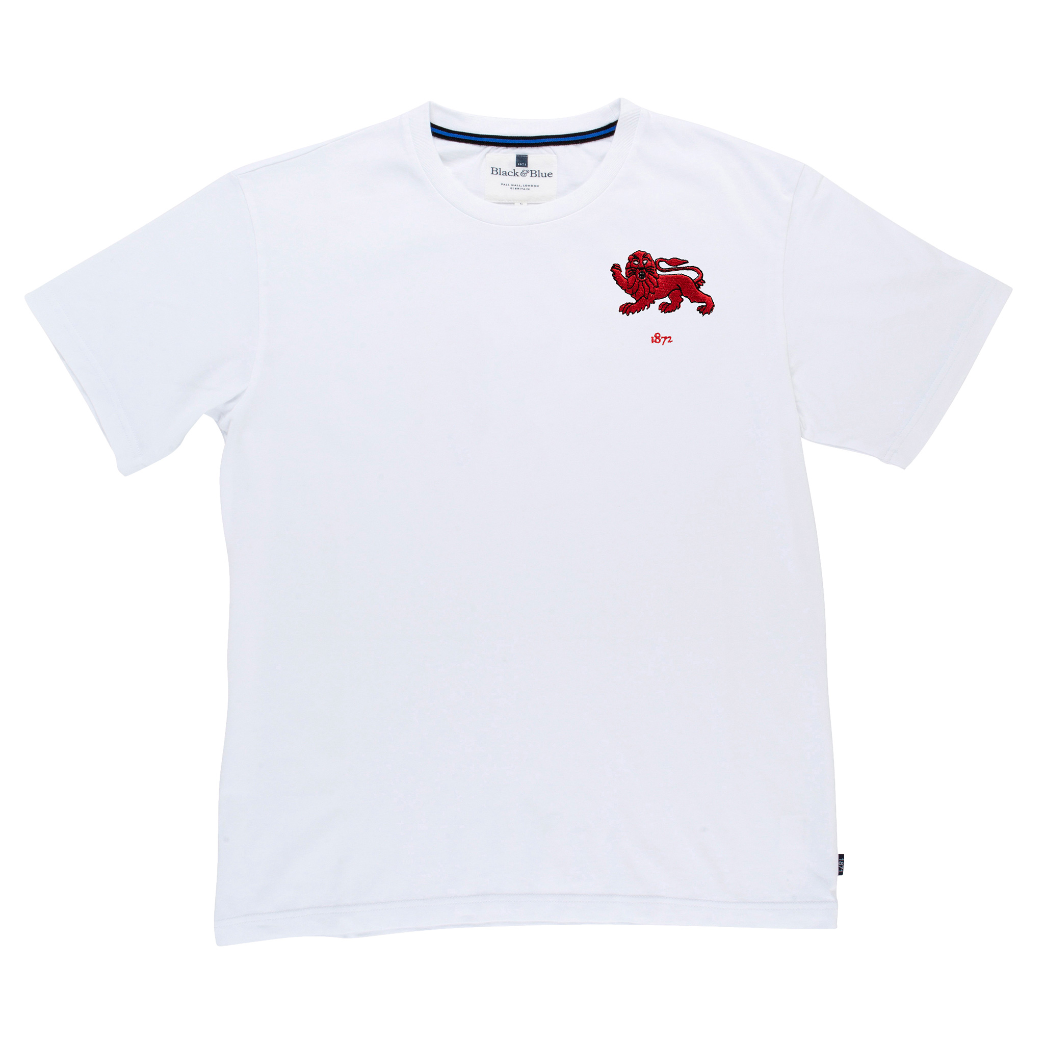 Cambridge 1872 White Tshirt_Front