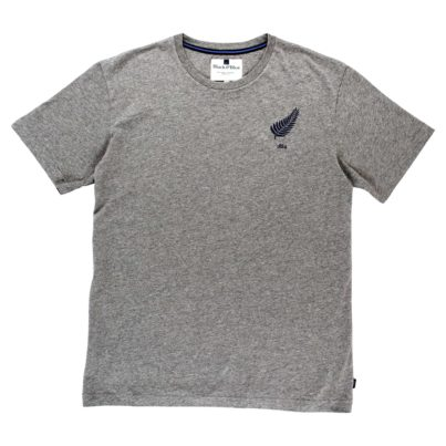 NEW ZEALAND 1884 GREY T-SHIRT