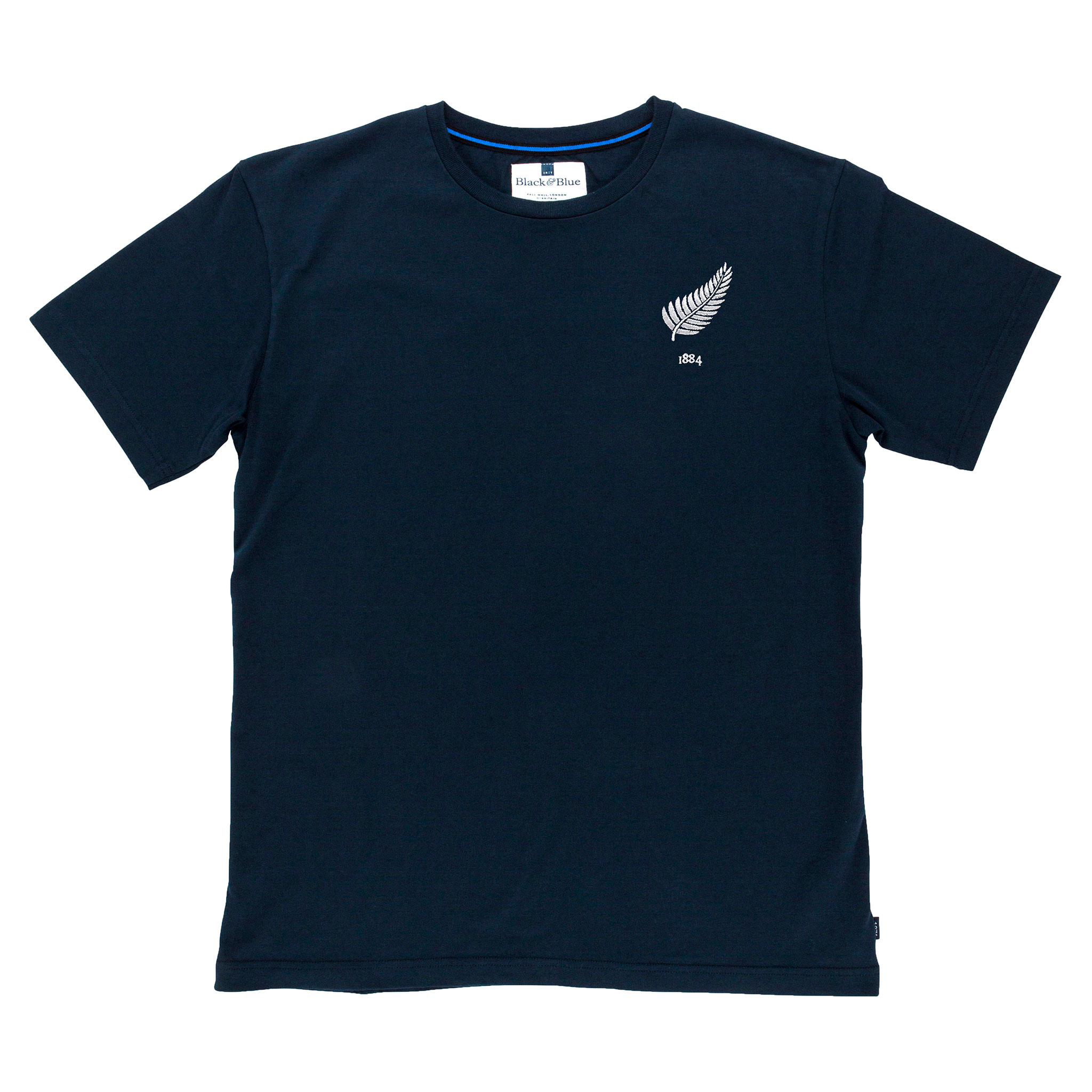 New Zealand 1884 Navy Tshirt_Front