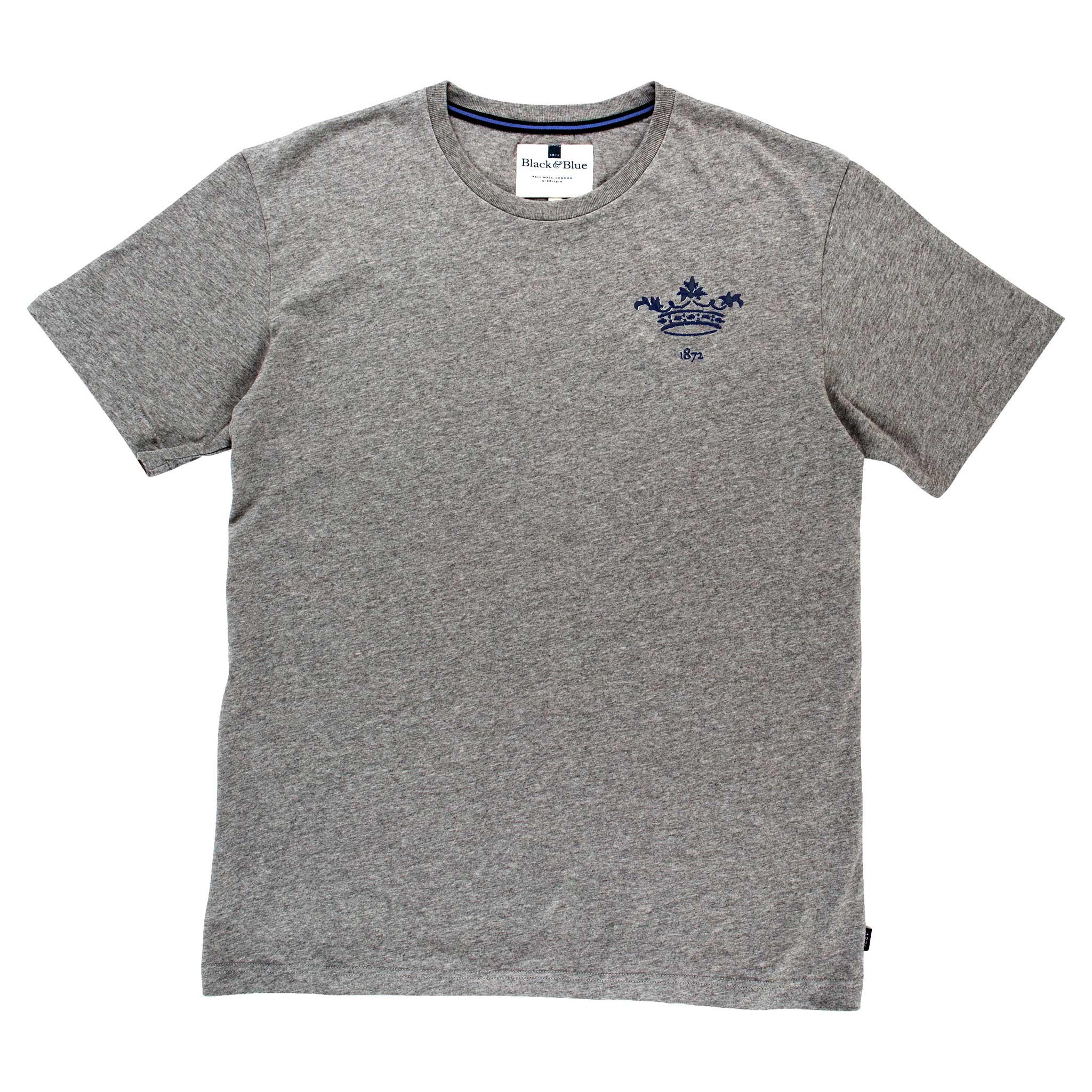 Oxford 1872 Grey Tshirt_Front