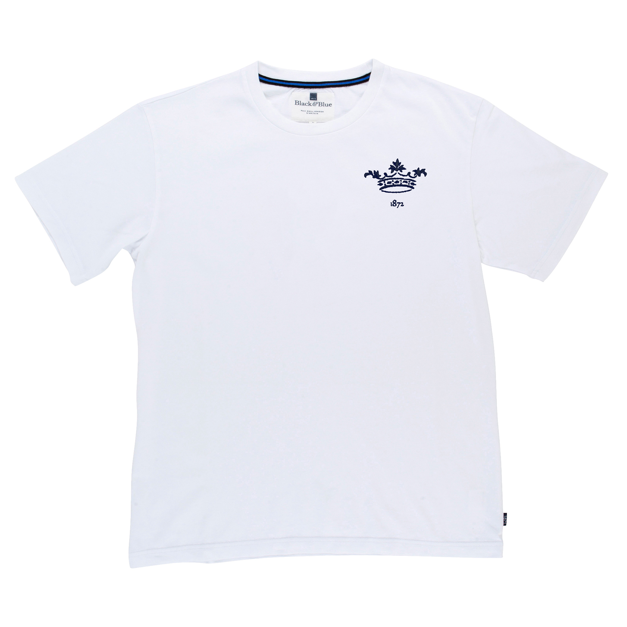 Oxford 1872 White Tshirt_Front
