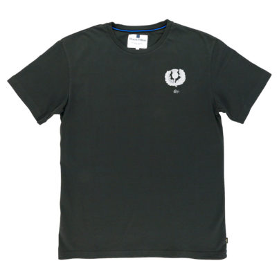 SCOTLAND 1871 ASPHALT T-SHIRT