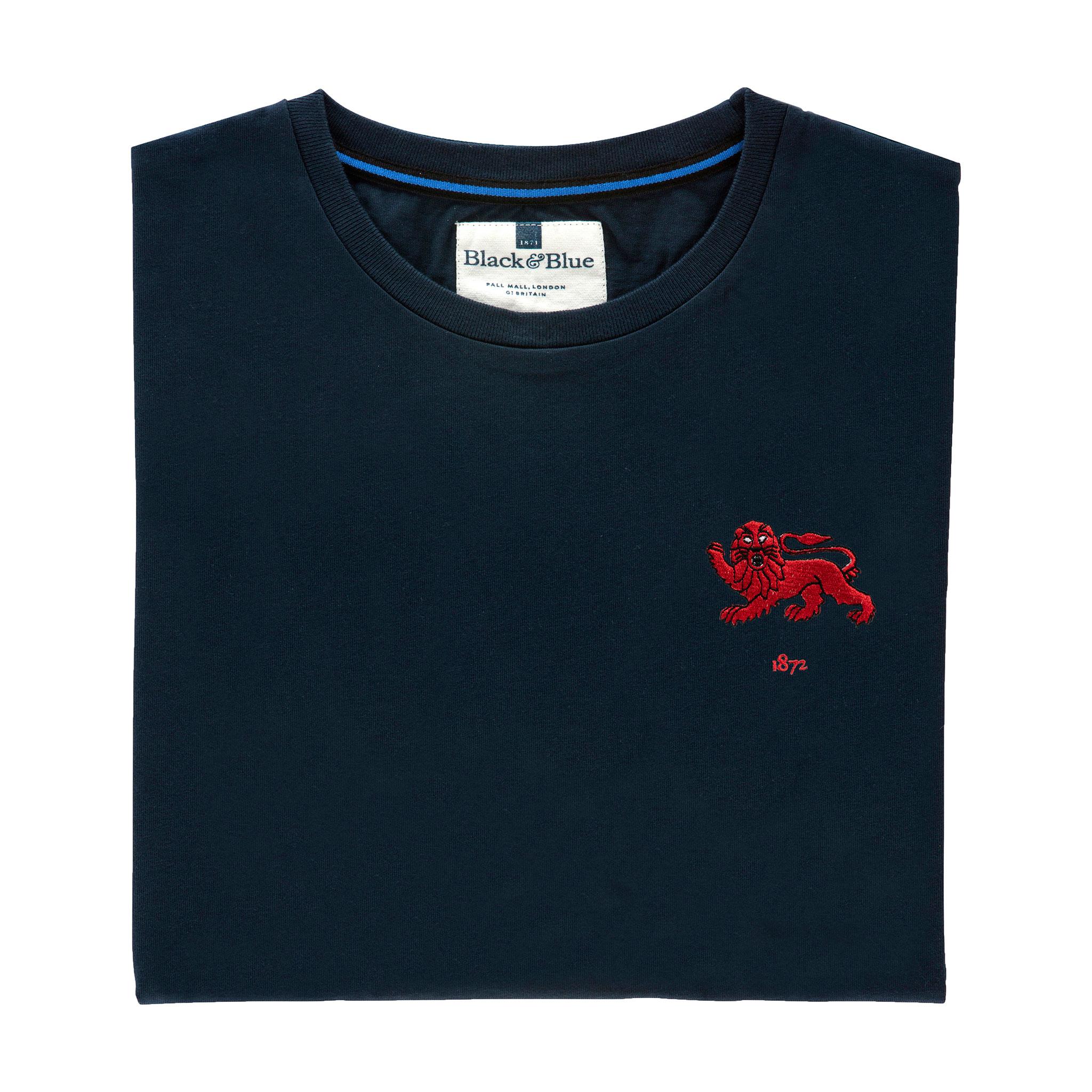 Cambridge 1872 Navy Tshirt_Folded