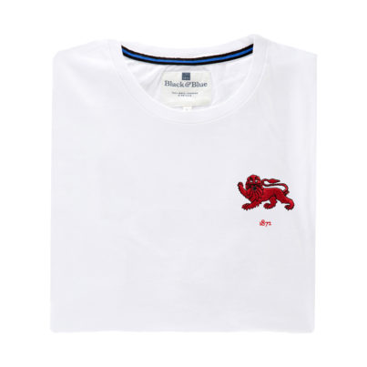 Cambridge 1872 White Tshirt_Folded