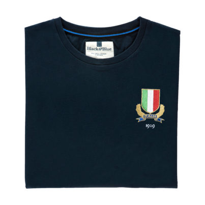 Italy 1929 Navy T-Shirt_Folded