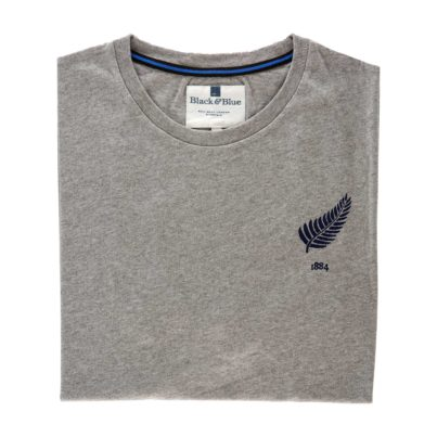 New Zealand Grey Tshirt_Folded