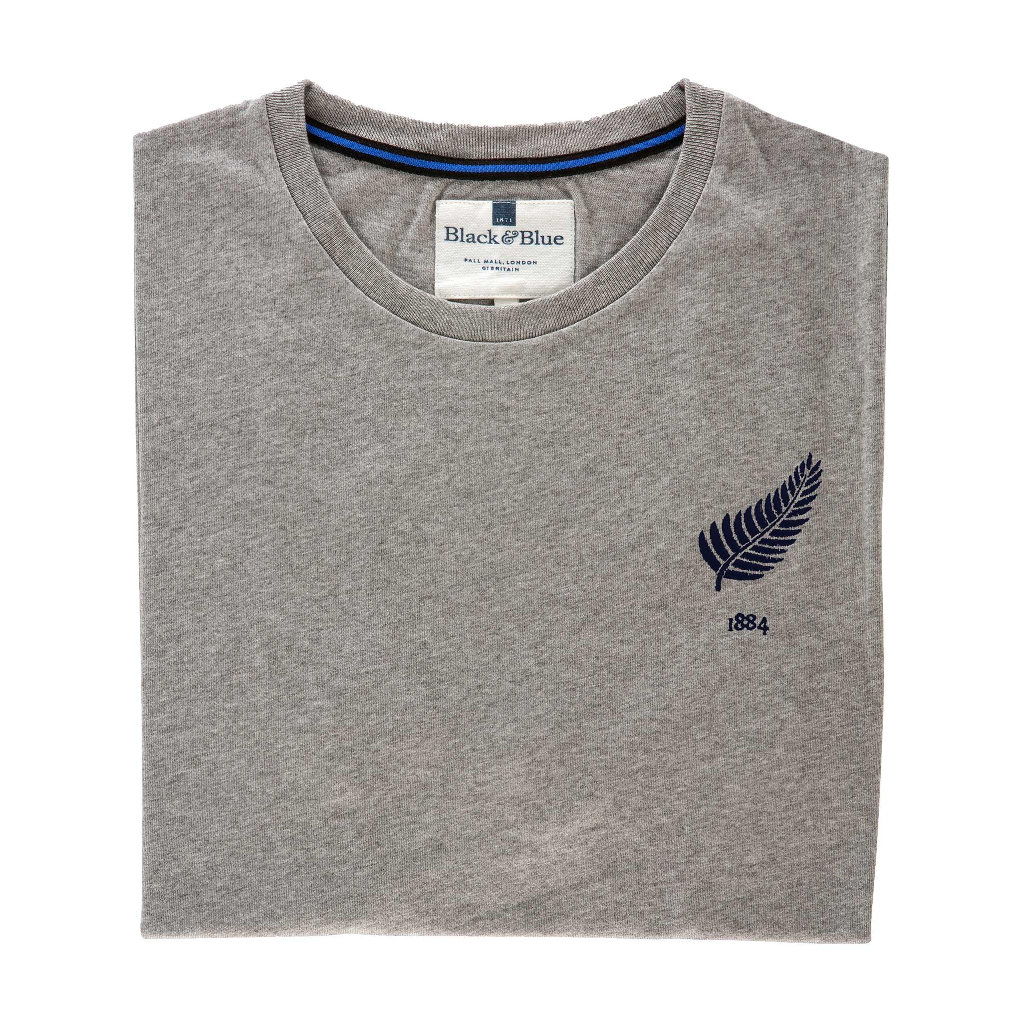 New Zealand Grey Tshirt_Folded