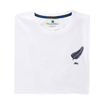 New Zealand White Tshirt_Folded