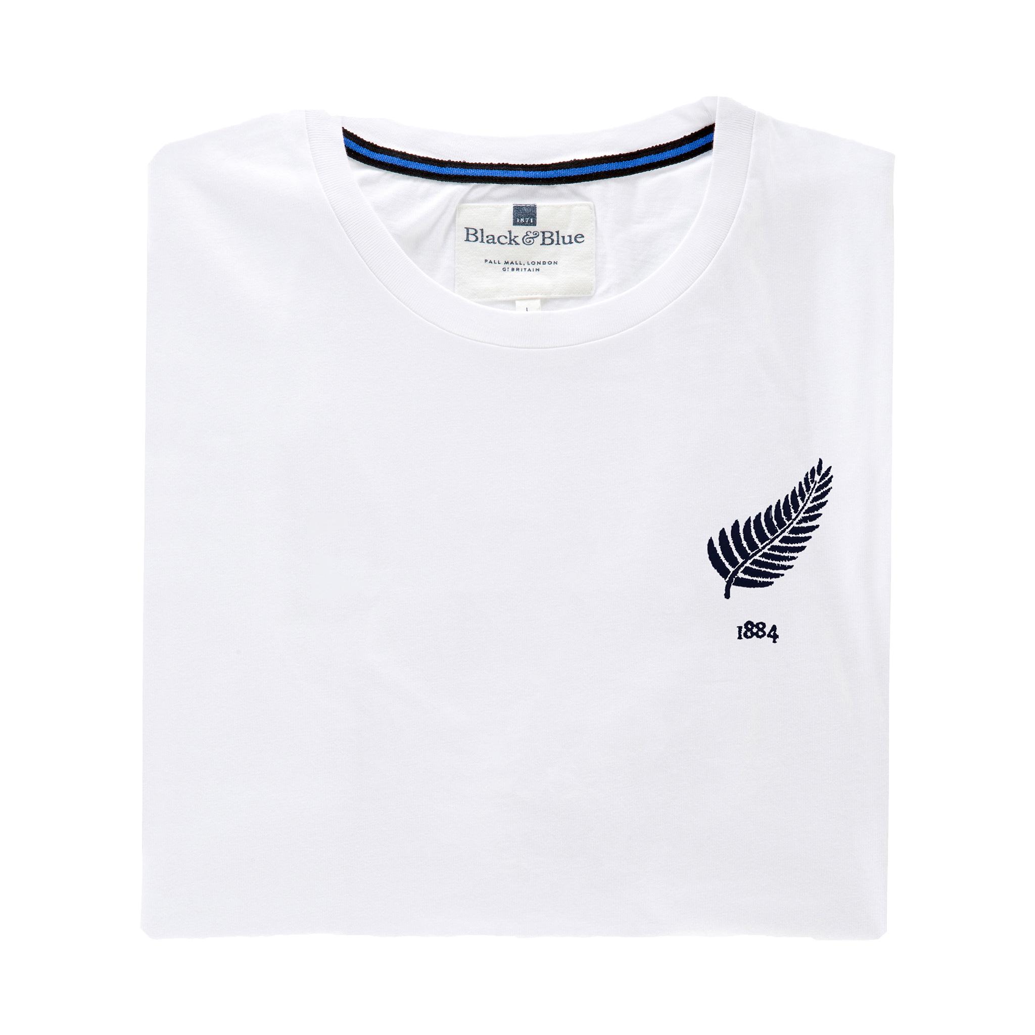 New Zealand White Tshirt_Folded