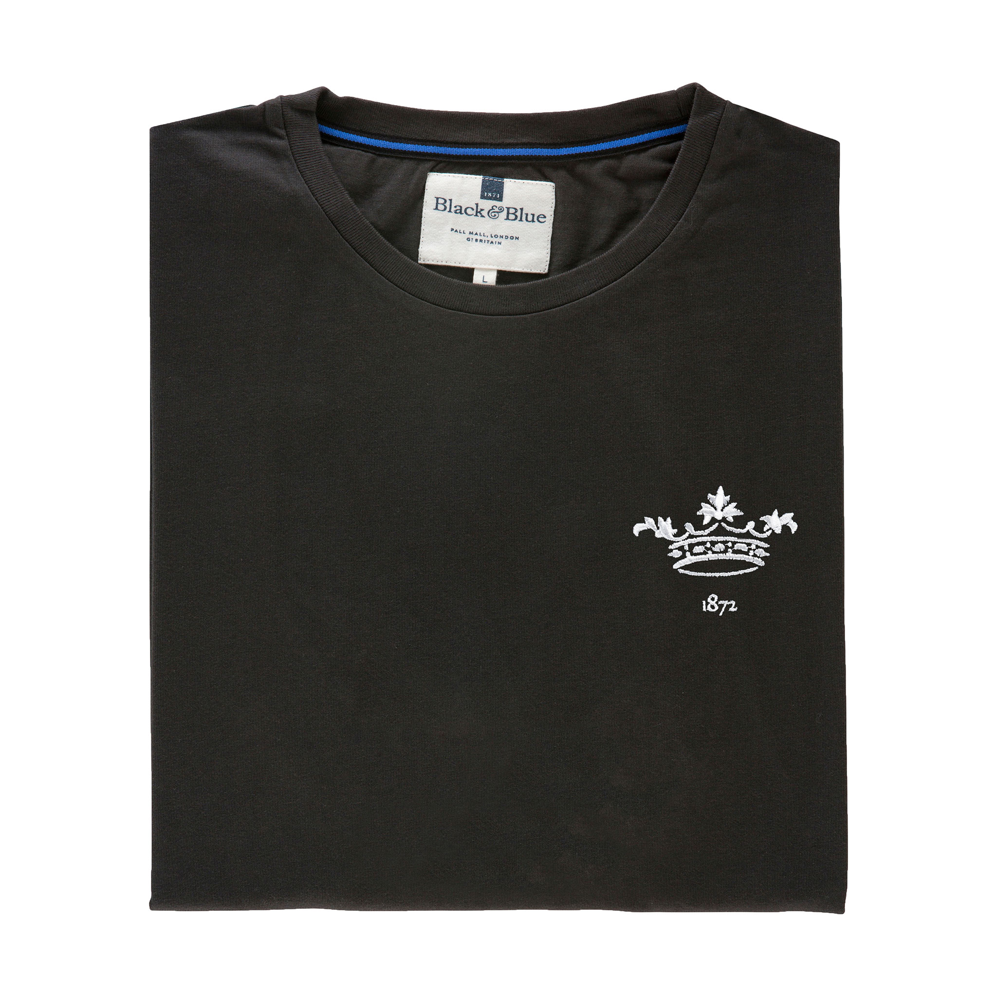 Oxford 1872 Asphalt Tshirt_Folded