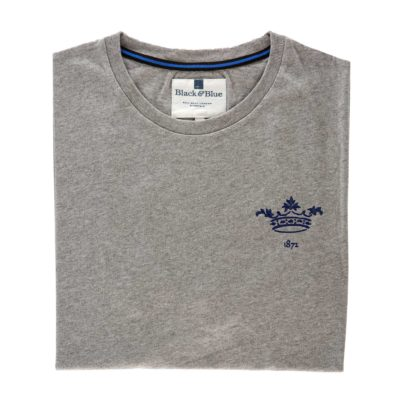 Oxford 1872 Grey Tshirt_Folded