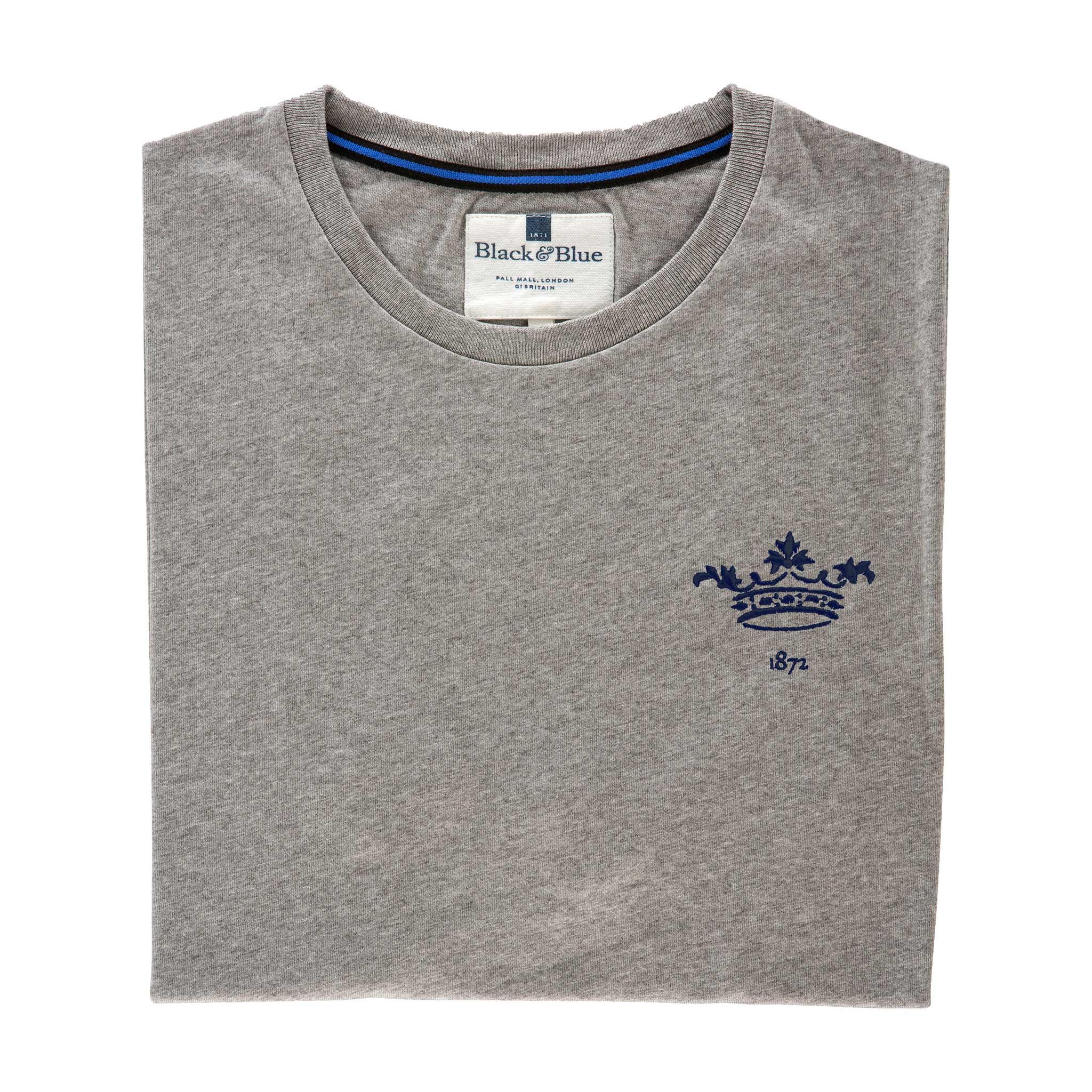 Oxford 1872 Grey Tshirt_Folded