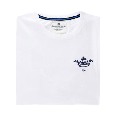 Oxford 1872 White Tshirt_Folded