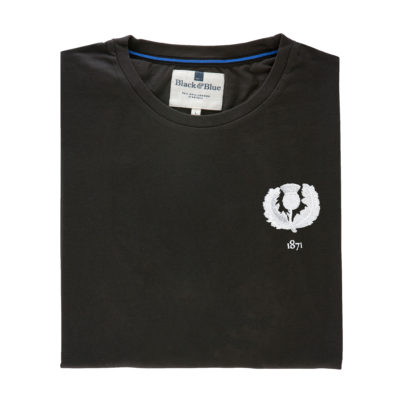 Scotland 1871 Asphalt Tshirt_Folded