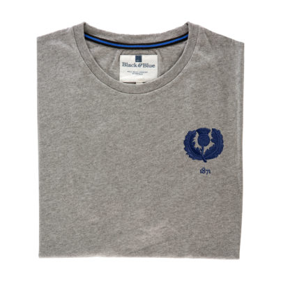 Scotland 1871 Grey Tshirt_Folded
