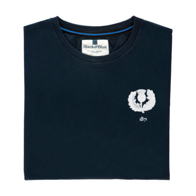 Scotland 1871 Navy Tshirt_Folded