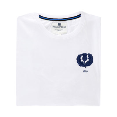 Scotland 1871 White Tshirt_Folded
