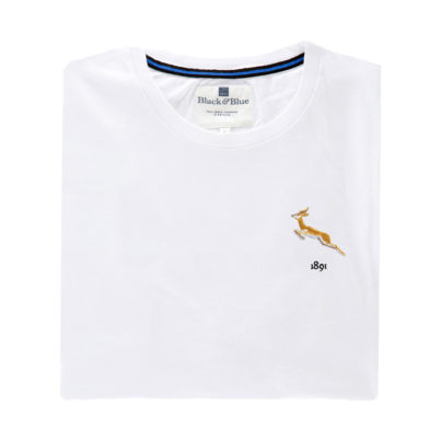South Africa 1891 White Tshirt_Folded