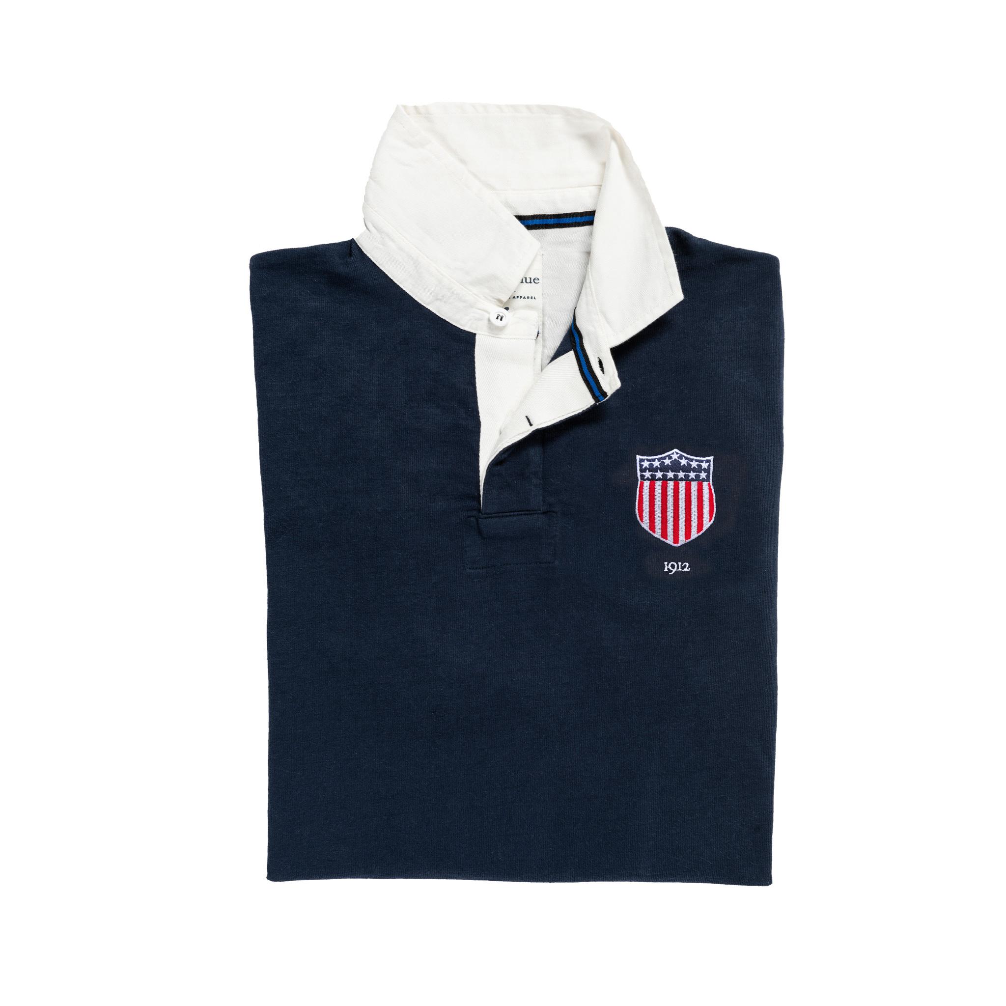USA 1912 Vintage Rugby Shirt_Away