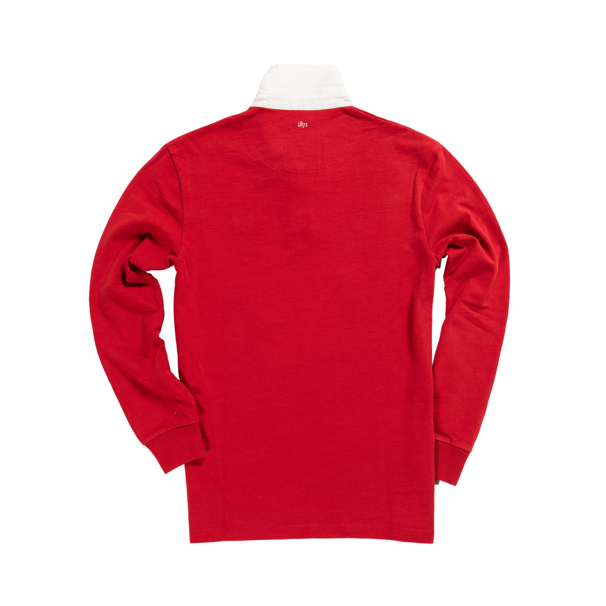 lUSA 1912 Vintage Rugby Shirt_Away_Red_Back