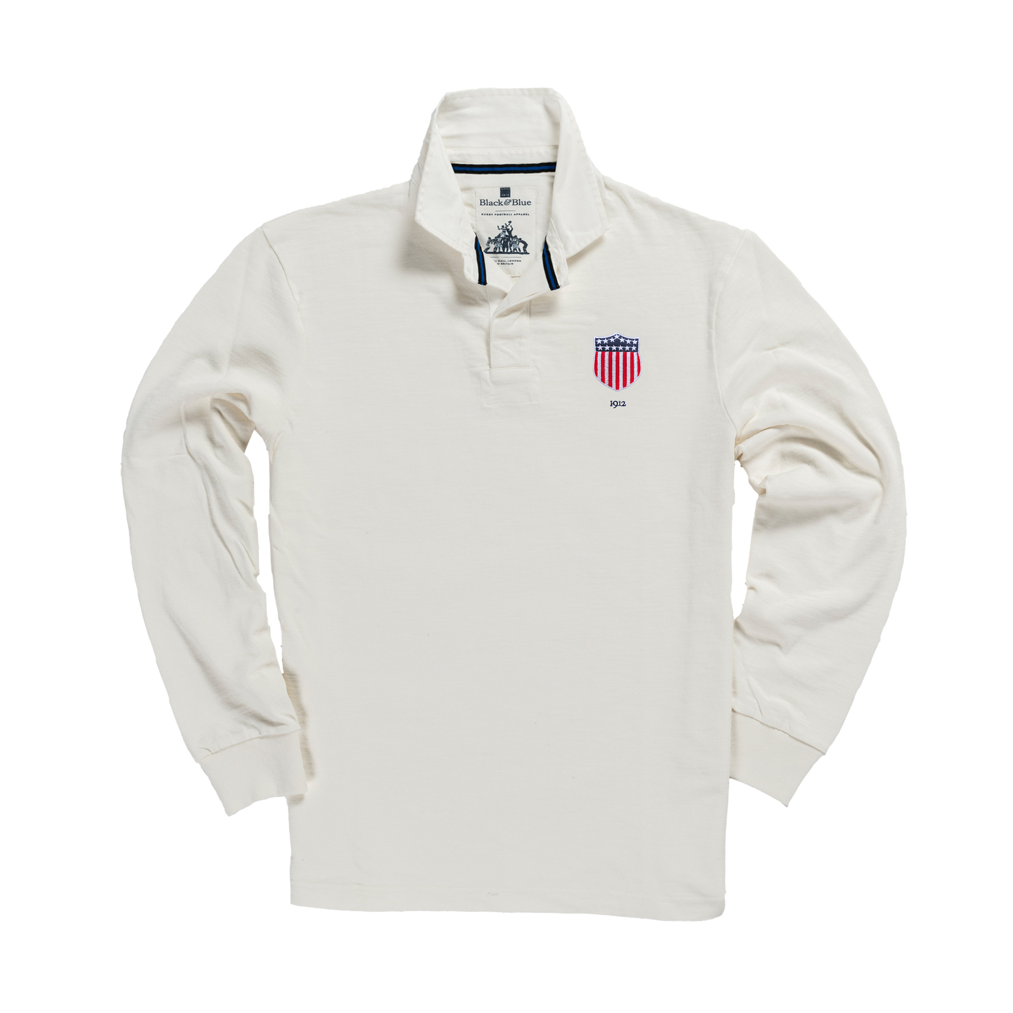 USA 1912 Vintage Rugby Shirt