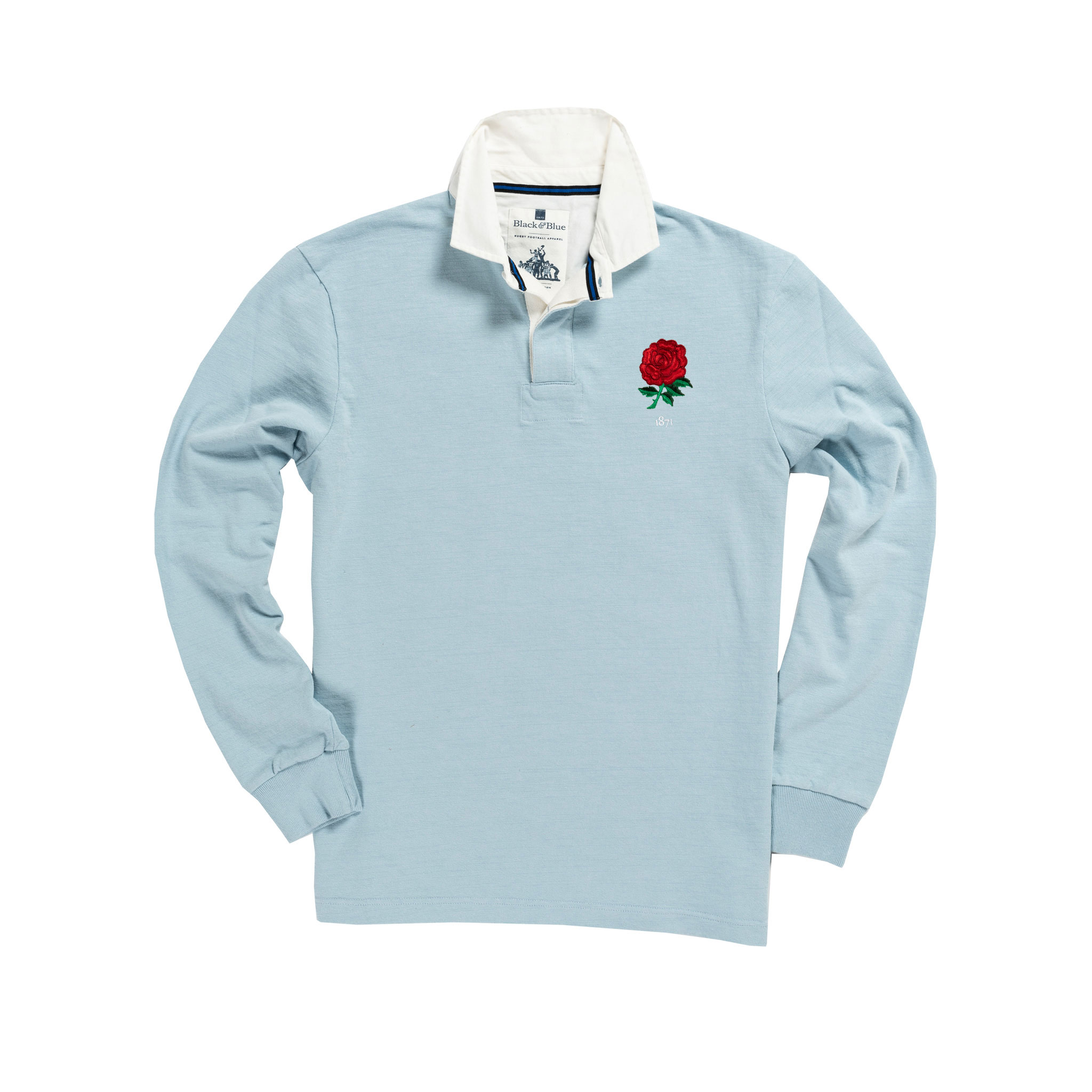 100/% Wales Six Nations 2019 Mens Rugby Shirt Long Sleeve