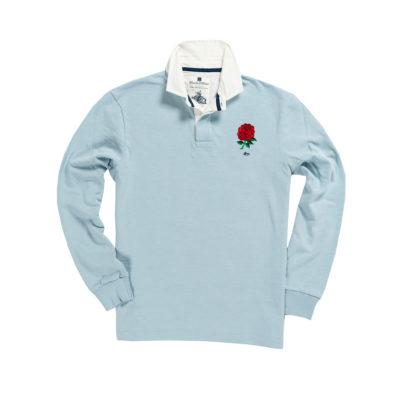 ENGLAND 1871 RUGBY SHIRT – SKY BLUE
