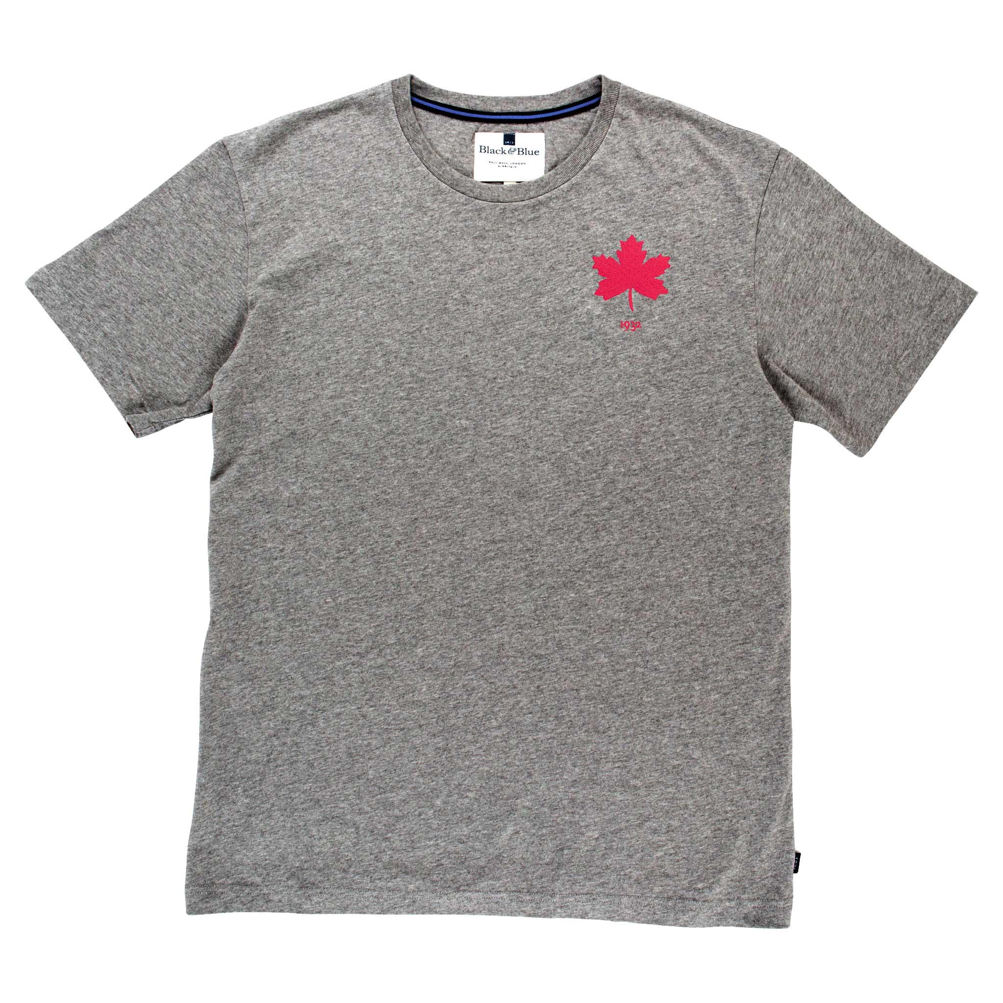 Canada 1932 Grey Tshirt_Front