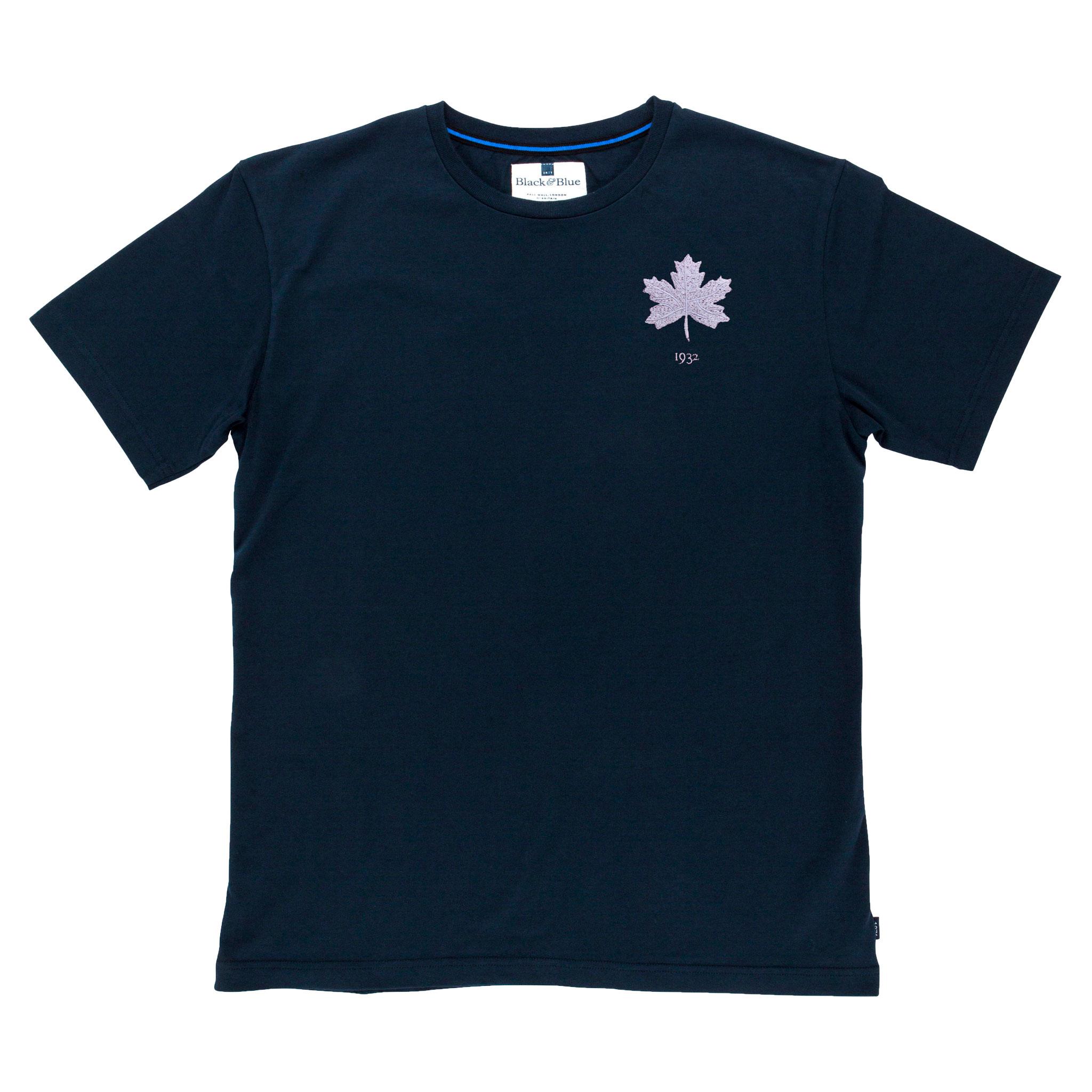Canada 1932 Navy Tshirt_Front