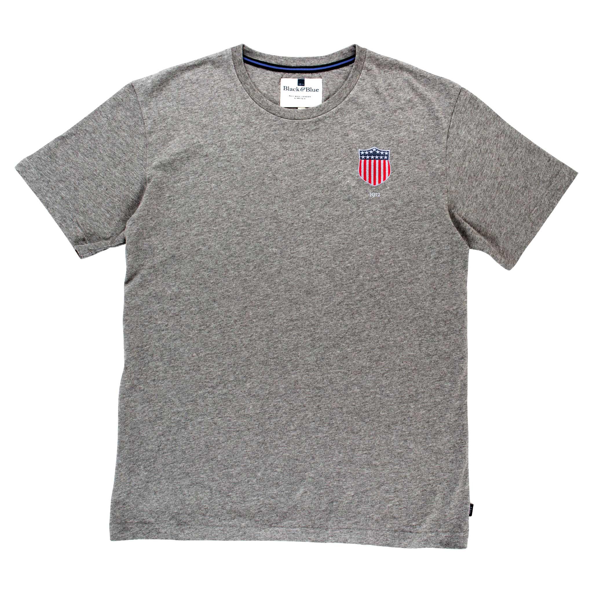 USA 1912 Grey Tshirt_Front