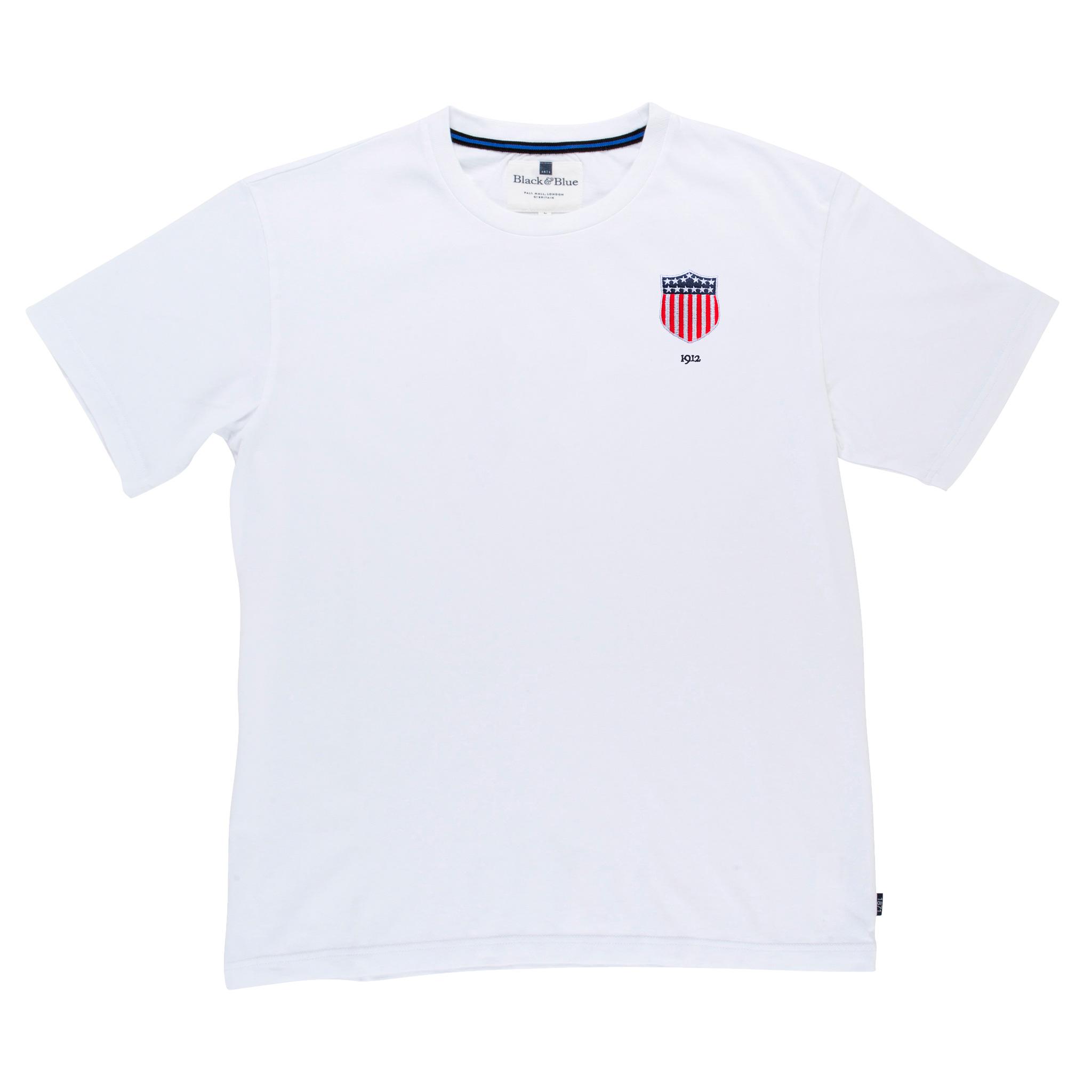 USA 1912 White Tshirt_Front