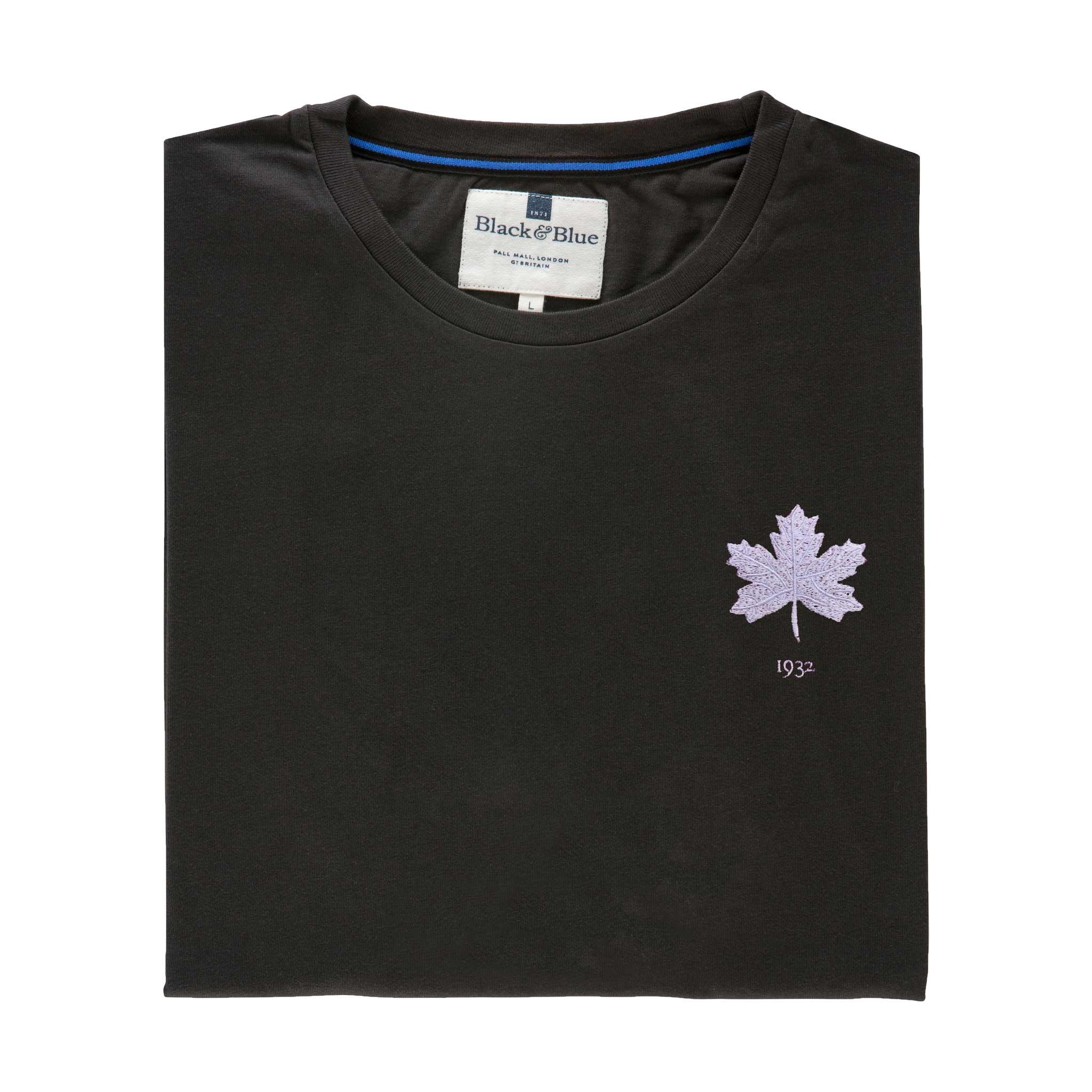Canada 1932 Asphalt Tshirt_Folded