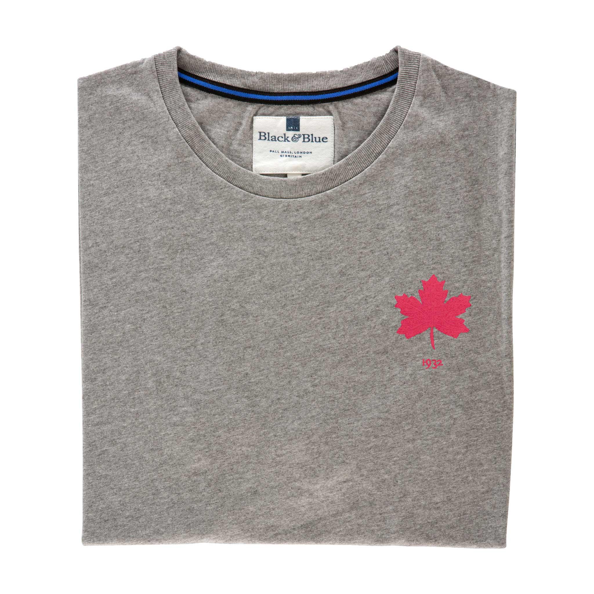 Canada 1932 Grey Tshirt_Folded