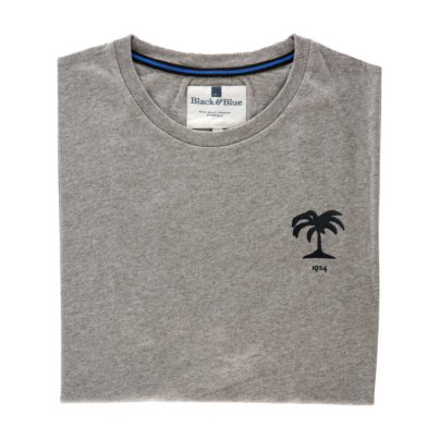 Fiji 1924 Grey Tshirt_Folded