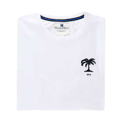 Fiji 1924 White Tshirt_Folded