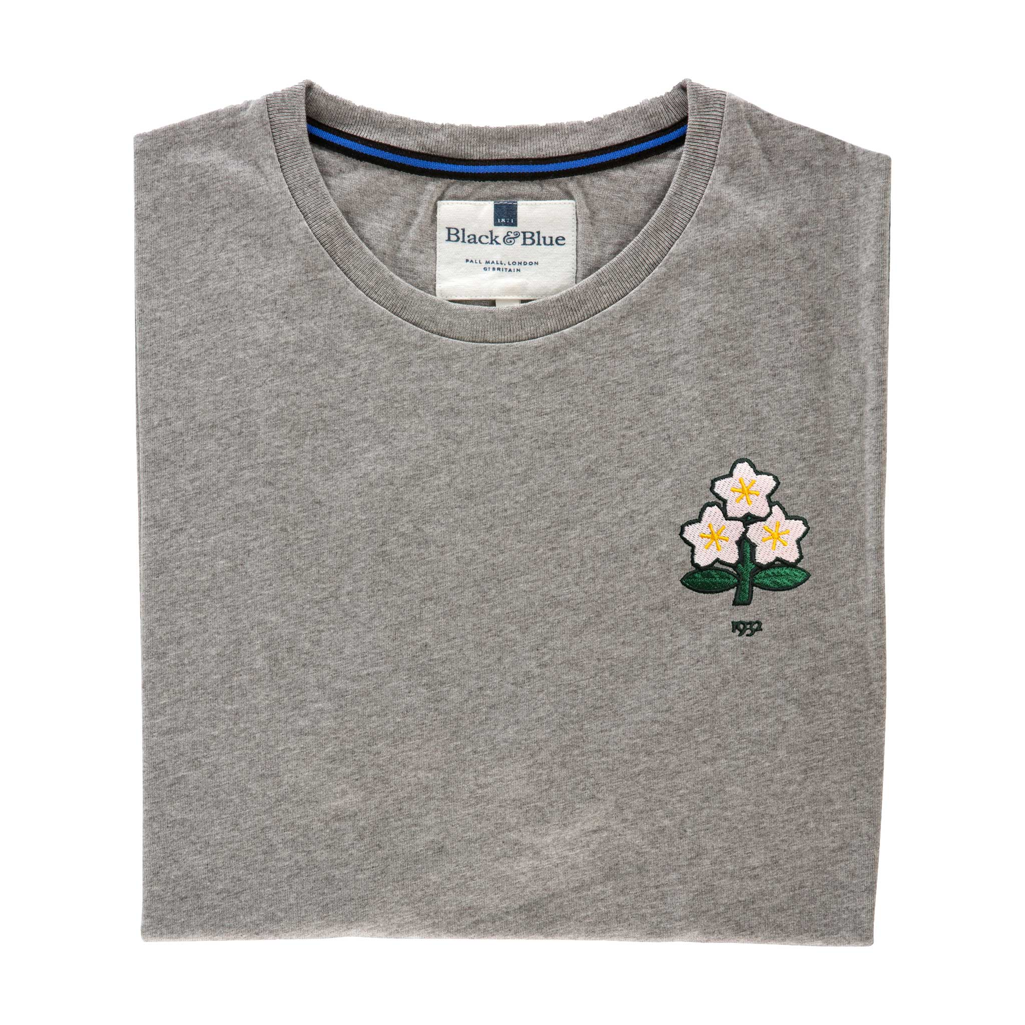 Japan 1932 Grey Tshirt_Folded