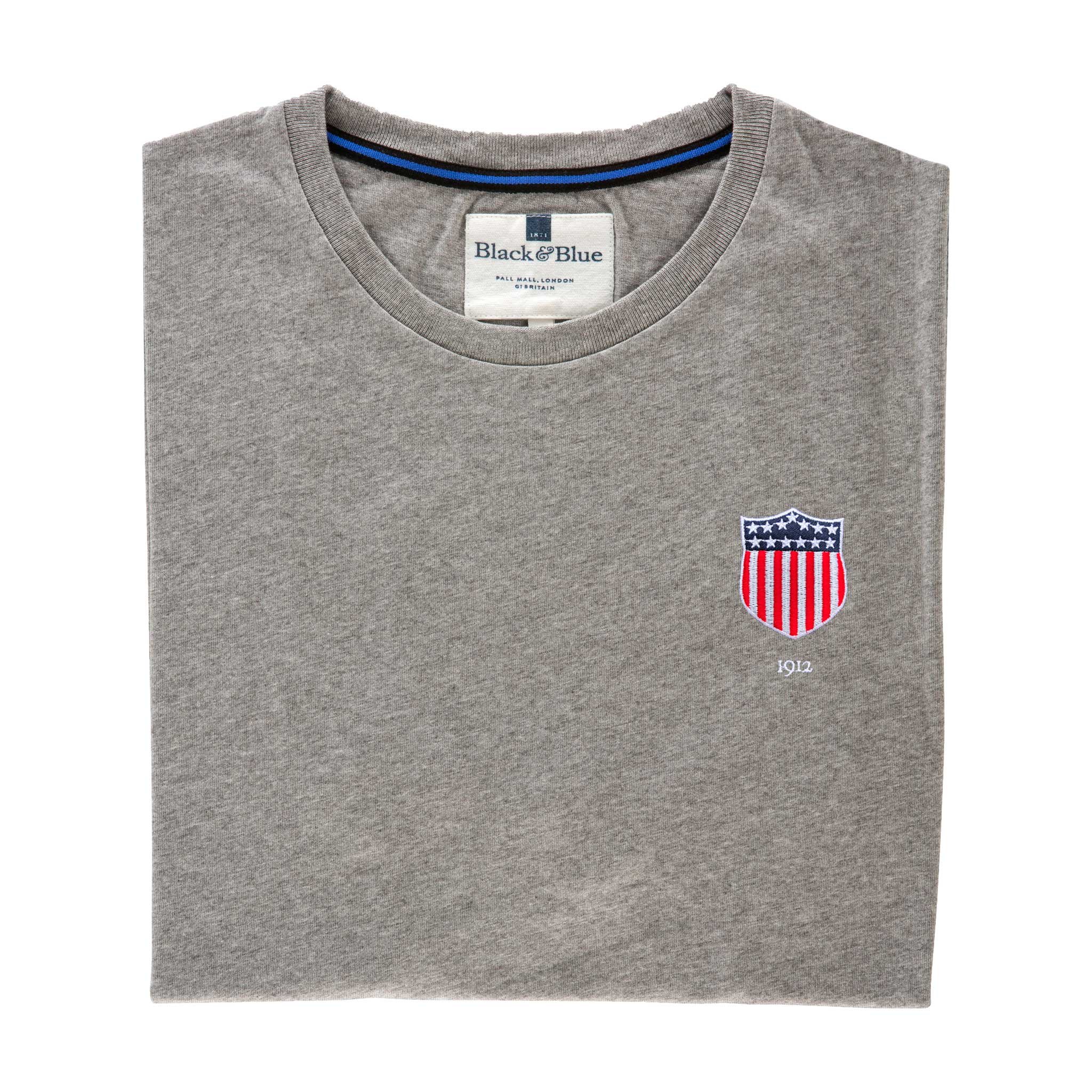 USA 1912 Grey Tshirt_Folded