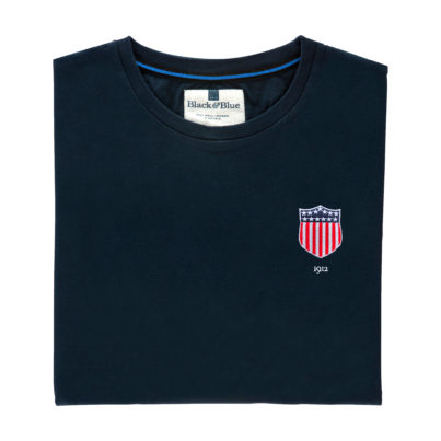 USA 1912 Navy Tshirt_Folded