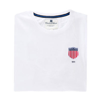 USA 1912 White Tshirt_Folded