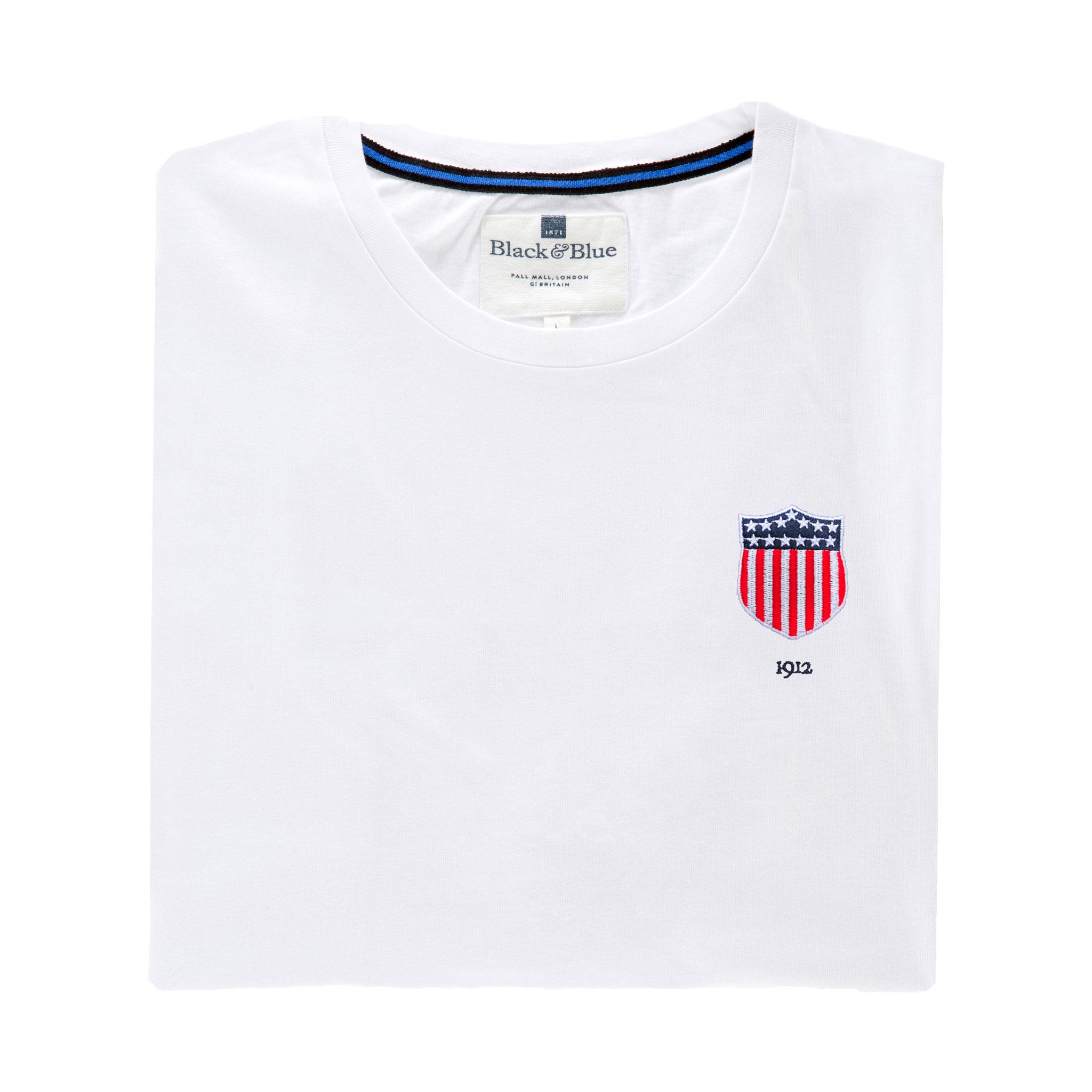 USA 1912 White Tshirt_Folded