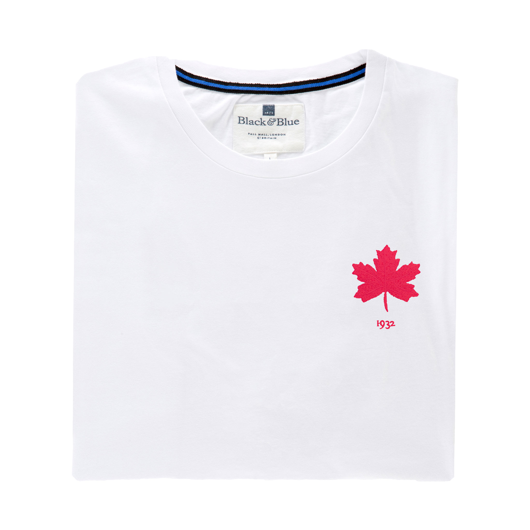 Canada 1932 White Tshirt_Folded