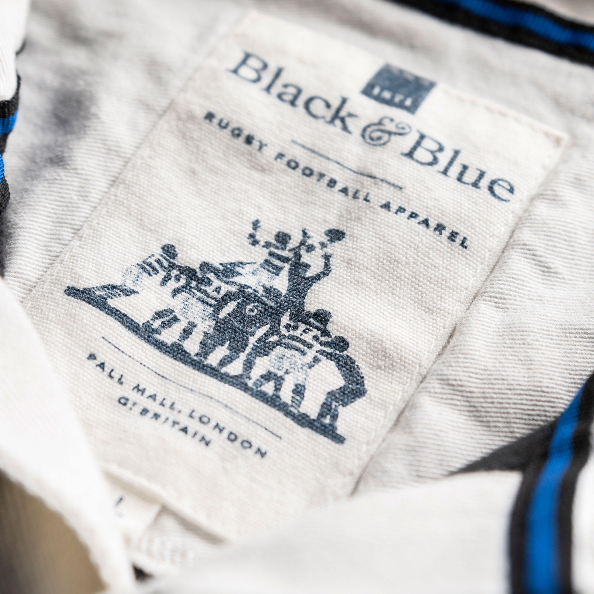 Wales 1881 Black Vintage Rugby Shirt_BB Label